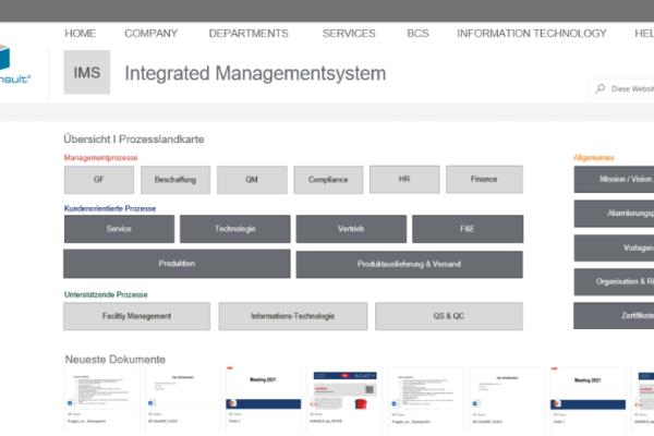 QMS &  IMS l Qualitätsmanagementsysteme & Integrierte Management Systeme mit SharePoint (Online) und Office 365